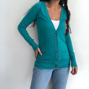 NWT Mossimo cotton button front cardigan XS